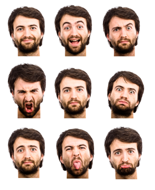 Non-Verbal Communication Element #2 – <br>Facial Expressions