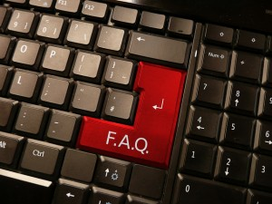 """No Sweat Public Speaking!"" FAQ Keyboard"