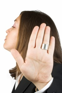 """No Sweat Public Speaking! - ""Don't"""