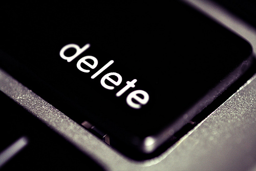 DELETE Distractions in Your Presentation