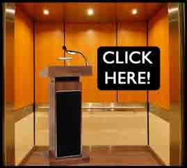 Elevator Speech Template - CLICK