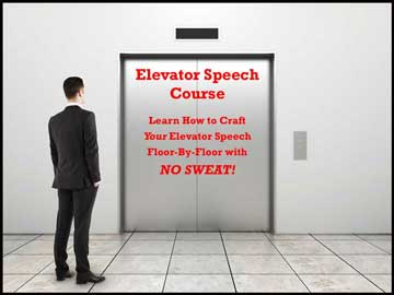 Elevator Speech Course