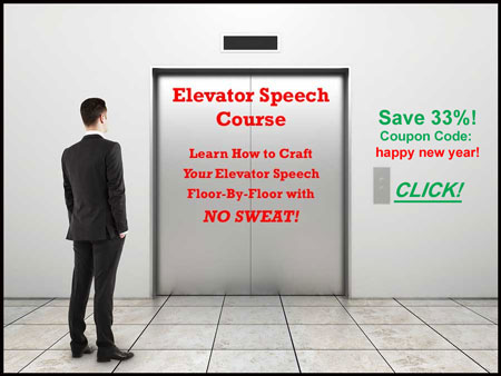 Elevator Speech Course Coupon Code