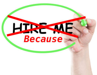 "If You Don't Like the Phrase, ""HIRE ME,"" . . ."