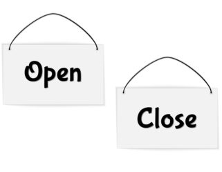 Speakers: Open and Close . . .