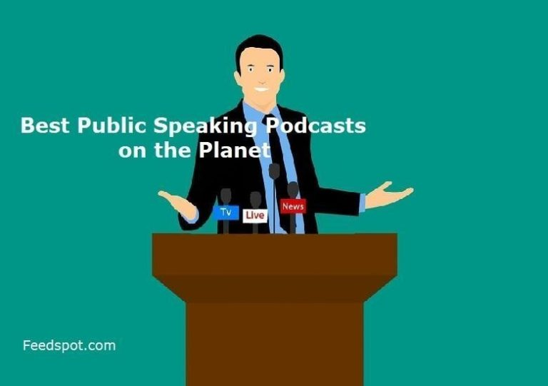 Proud to be in the Top 25 Public Speaking Podcasts!