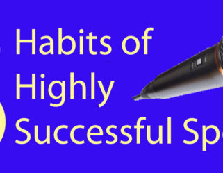 8 Habits of Highly Successful Speakers