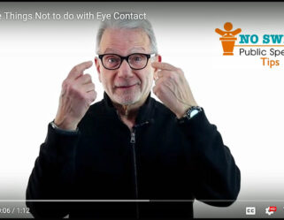 Three Things NOT to do with eye contact.