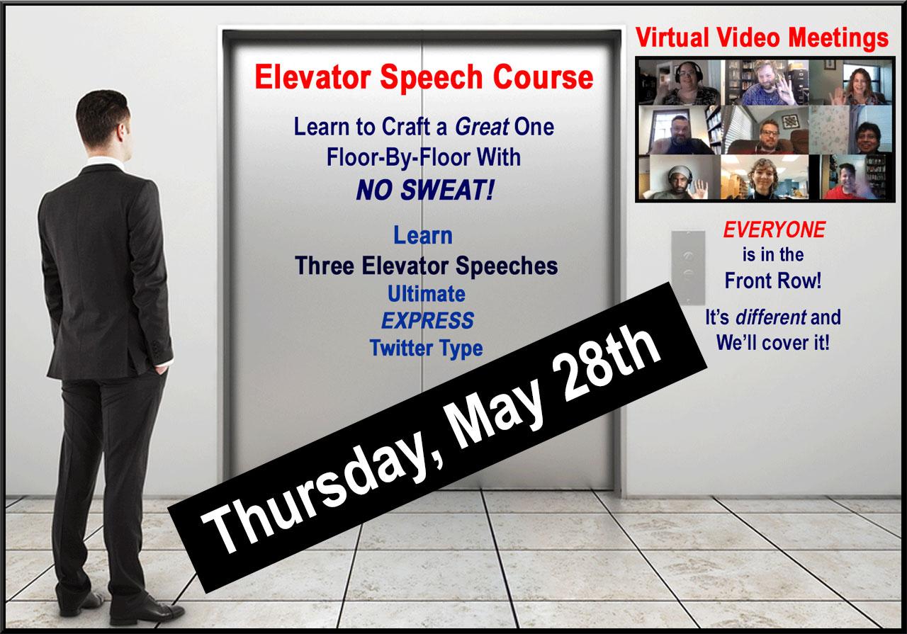 Elevator Speech Course